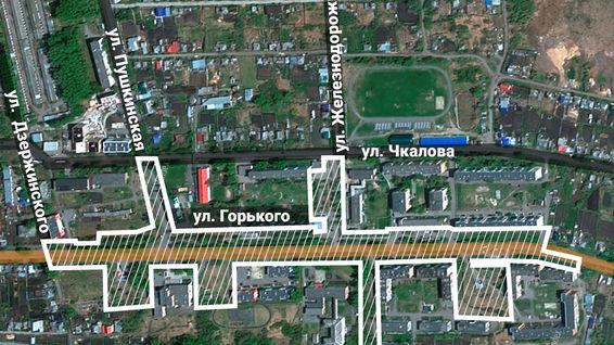Комфортный Туринск. Проект развития улицы Горького в посёлке ЦБЗ